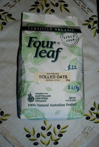 Four Leaf Organic Rolled Oats