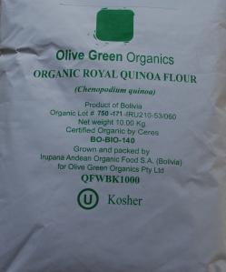 Organic Royal Quinoa Flour
